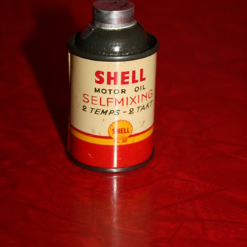 shell small oil can - Petroliana