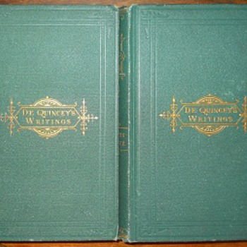 DeQuincey's Writings - Books
