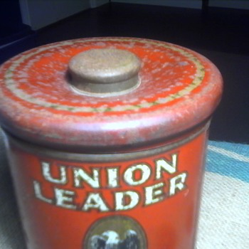 Union Leader Tobacco Humidor