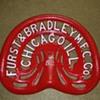 Furst & Bradley Cast Iron Tractor Seat - 1860's