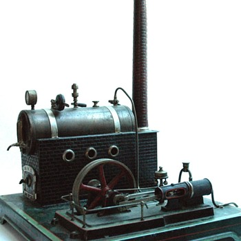 machiner à vapeur Doll & Cie vers 1920 - early 1920' Doll & Cie steam toy