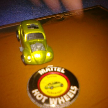 Hot Wheels Custom VW with button