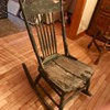 Armless Wooden (Nursing/Sewing) Rocker