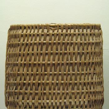 VINTAGE ABERCROMBIE &amp;FITCH CO. NEW YORK PICNIC BASKET -ENGLAND