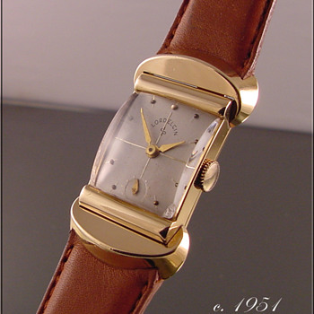 Lord Elgin 21-Jewel, 18k Solid Gold Wristwatch