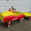 Coca Cola Pedal Car
