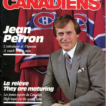 Les Canadiens Premier Issue
