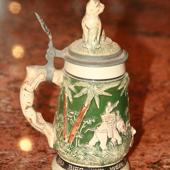 Antique German Beer Steins  - Breweriana