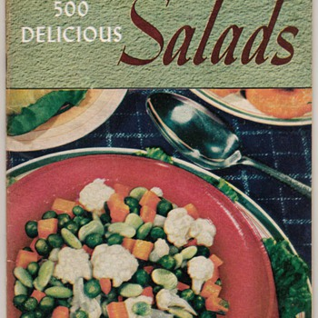 1941 - 500 Delicious Salads - Books
