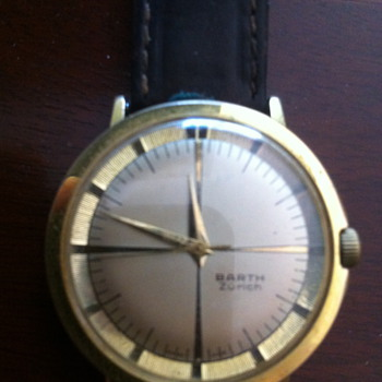 "UNKNOWN WATCH marked: ""BARTH"" ZURICH"""