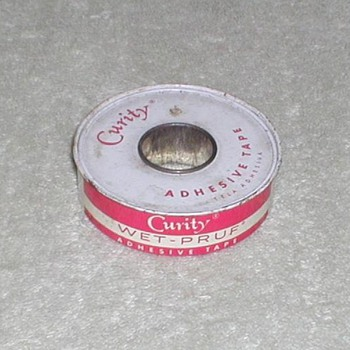 "Curity ""Wet-Pruf"" Adhesive Tape"
