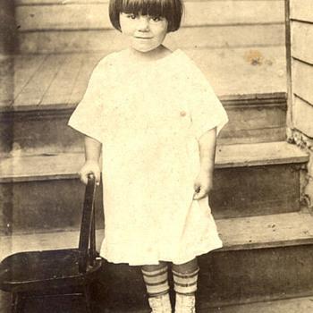 My Mom Circa 1915 - Photographs