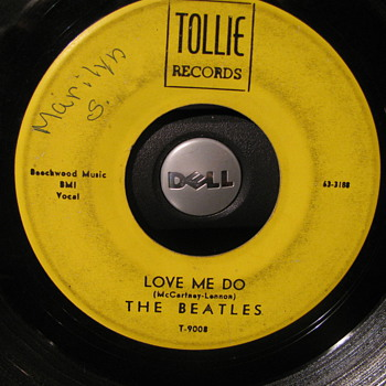 Beatles Four Hits on Four different Labels - Records
