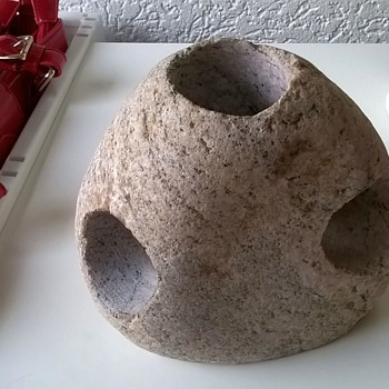 Svane Stone Tealight Holder Sweden Thrift Shop Find $1.00