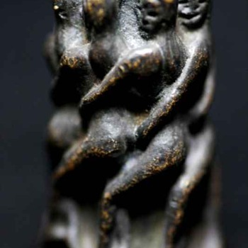 Bronze Fertility Tower Of Virgins Charm Thailand