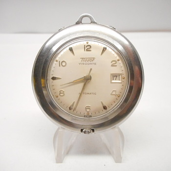 Vintage Tissot Visodate Automatic Pendant/Desk Watch