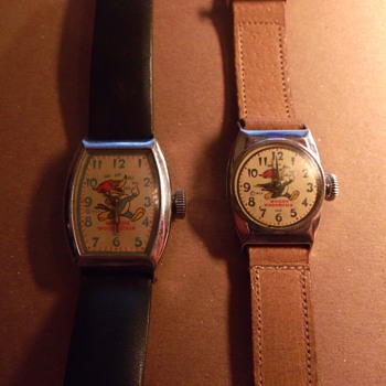 "The ""First"" Woody Woodpecker Wrist Watch - Wristwatches"