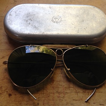 1940's B&L Sunglasses?