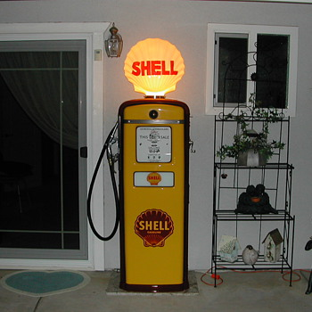 Tokheim Gasoline Pump - Petroliana