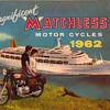 1962 - Matchless Motorcycles Sales Brochure/Poster