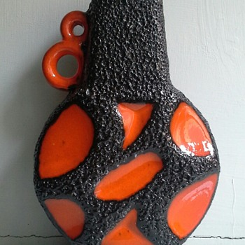 roth keramik vase 313 - Art Pottery