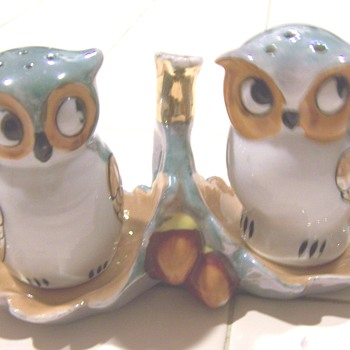 Luster owl salt and pepper - Kitchen