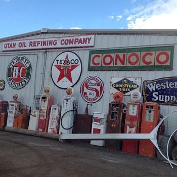 Pumps and Globes - Petroliana