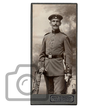 Old photographs collection: Soldiers CDV portraits I