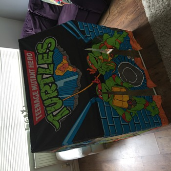 Teenage mutant ninja turtles play tent 1990