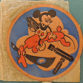 WW2 DISNEY DESIGNED PATCHES - Advertising