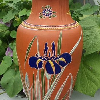 TERRACOTTA VASE - Art Pottery