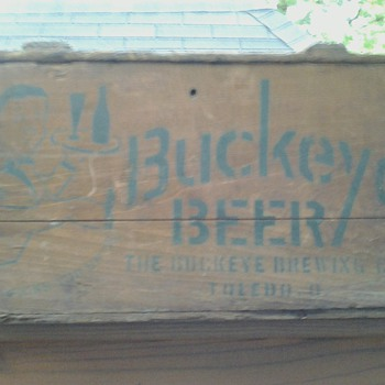 Buckeye Beer Crate Toledo, Ohio