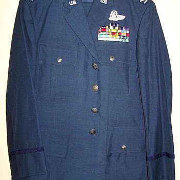 Tailor made U.S. Air Force uniform