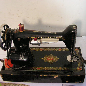 My wife has a Singer sewing machine she got from her Great Grandmother We have the receipt. It was purchased in 1892. - Sewing
