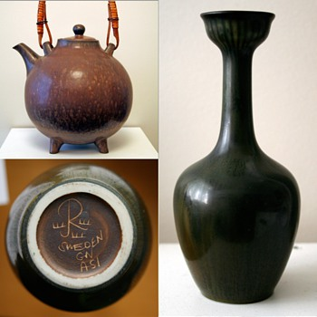 Gunnar Nylund for Rorstrand, Sweden 1958 - Art Pottery