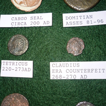 Roman coin collection - World Coins