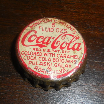 Old Coca-Cola Bottle Crowns - Coca-Cola