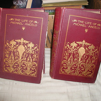 "Is my ""Life of Michael Angelo"" Vol I & II by Herman Grimm Translated by Fanny Elizabeth Bvnnett a 1st Editions / 1st Printings?"