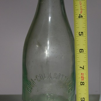 Unusual? Coca Cola Bottle 24oz Pottsville, PA - Coca-Cola