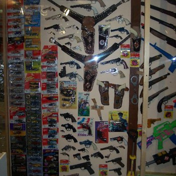 a few toy capguns