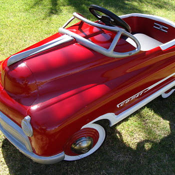 1950 Murray Comet Jet Drive Pedal Car! - Model Cars