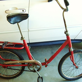 Folding Bike, Sicur, Made In Italy maybe 50's or 60's - Sporting Goods