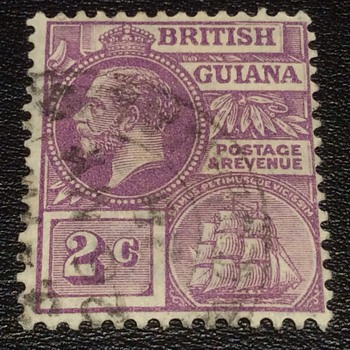 British Guiana stamp - Stamps