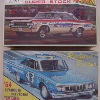 1/25 Plastic model kits - Model Cars