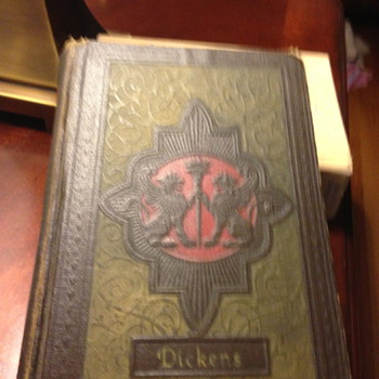 Book appears very old, A Dickens Classic, The Giant International Series, Green hardcover, copyright emendations 1867 and 1868