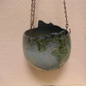 Gorgeous Hanging Basket - Art Pottery
