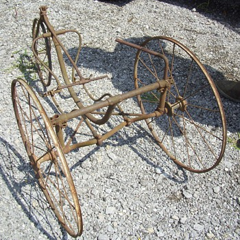 Just a neat old tricycle - Outdoor Sports