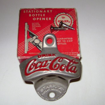 Coca~Cola Bottle Opener - Coca-Cola