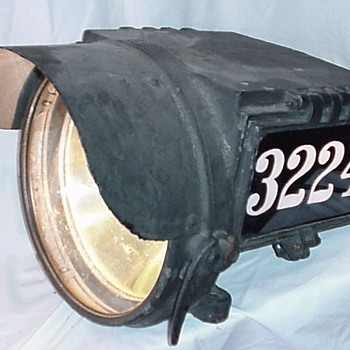 Pyle National Steam Locomotive Headlamp - Railroadiana