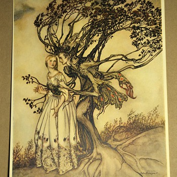 Little Brother and Little Sister - The Brothers Grimm - Illustrated by Arthur Rackham - 1917